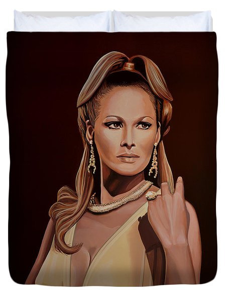 Ursula Andress Duvet Cover by Paul Meijering