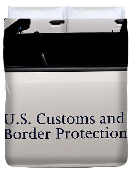 U.S. Customs and Border Protection Duvet Cover by Roger Reeves  and Terrie Heslop