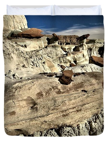 Utah Erosion Duvet Cover by Adam Jewell