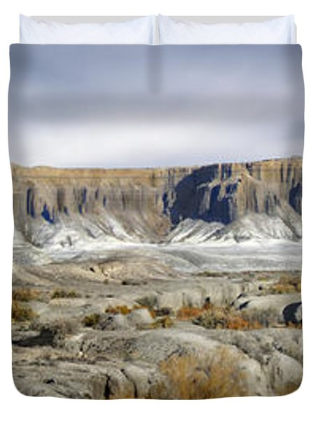 Utah Outback 43 Panoramic Duvet Cover by Mike McGlothlen