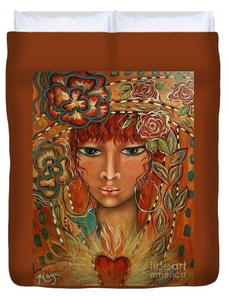 Valor Duvet Cover by Maya Telford
