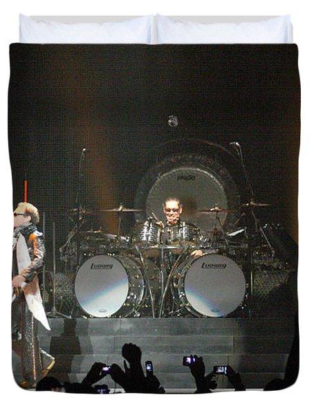 Van Halen-7026 Duvet Cover by Gary Gingrich Galleries