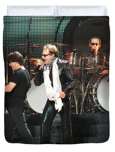 Van Halen-7249 Duvet Cover by Gary Gingrich Galleries