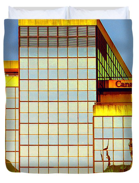 Vancouver Reflections No 2 Duvet Cover by Ben and Raisa Gertsberg