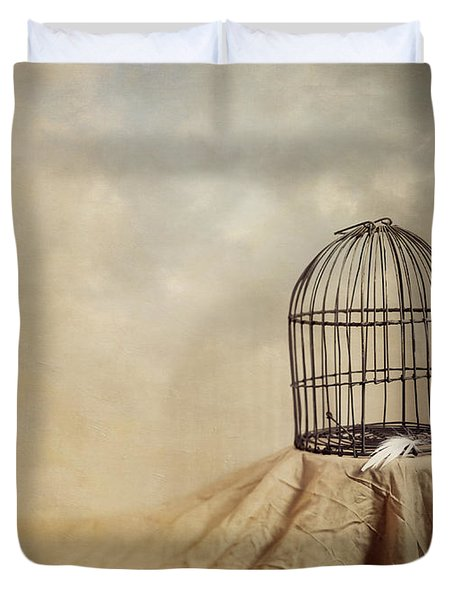 Vanishing Act Duvet Cover by Amy Weiss