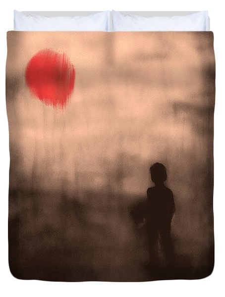 Vanishing Sun Duvet Cover by Bob Orsillo