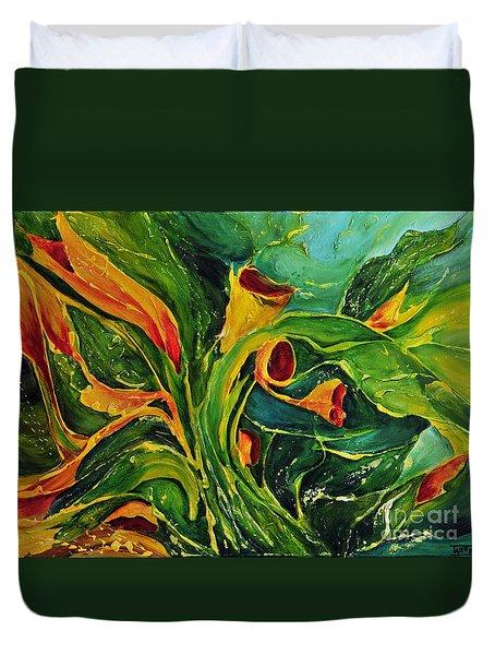 Variation  No.2 Duvet Cover by Teresa Wegrzyn