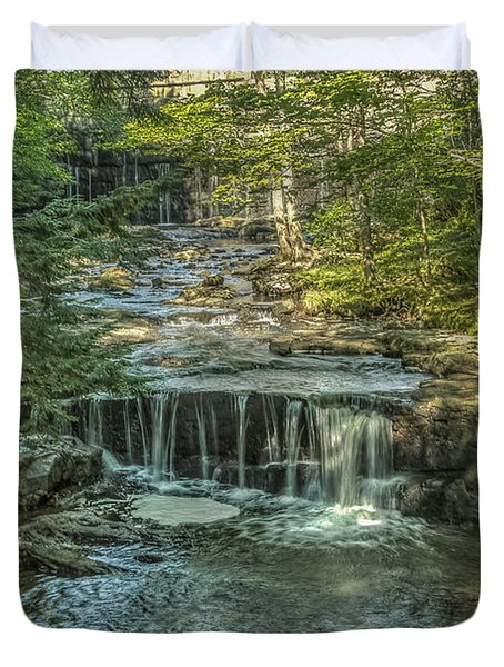 Vaughan Woods Stream Duvet Cover by Jane Luxton