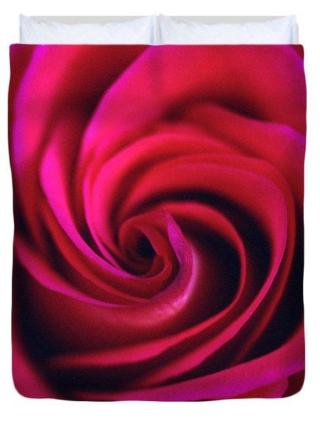Velvet Rose Duvet Cover by Kathy Yates