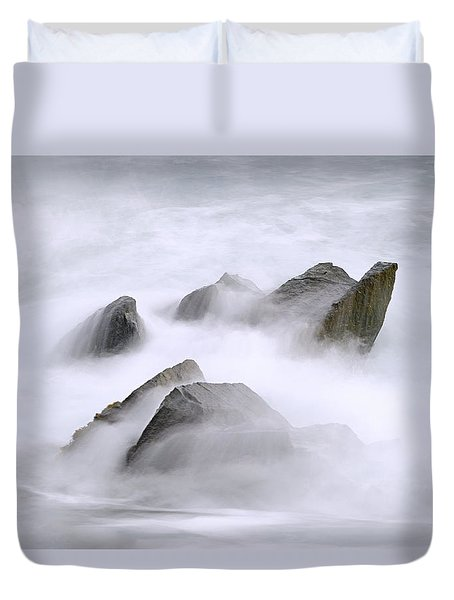Velvet Surf Duvet Cover by Marty Saccone
