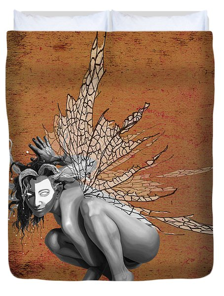 Venetian Fairy Duvet Cover by Kd Neeley