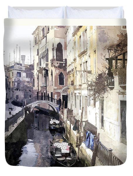 Venice 1 Duvet Cover by Julie Woodhouse