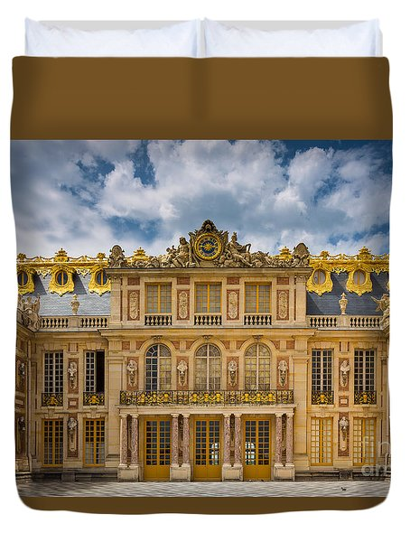Versailles Courtyard Duvet Cover by Inge Johnsson