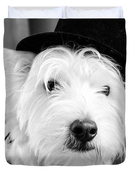 Veteran Vaudeville Stage Actor Duvet Cover by Edward Fielding