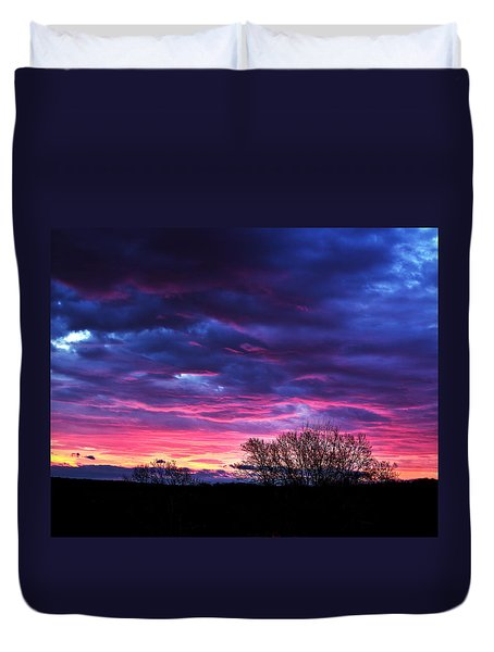 Vibrant Sunrise Duvet Cover by Tim Buisman