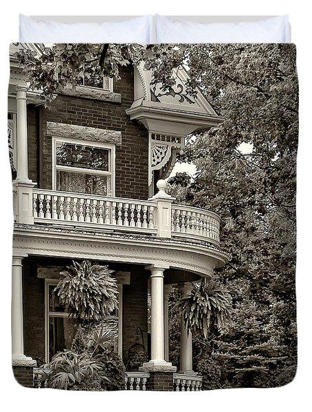 Victorian Classic Sepia Duvet Cover by Steve Harrington
