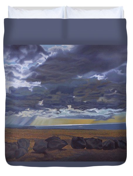 View From Spencer Duvet Cover by Thu Nguyen