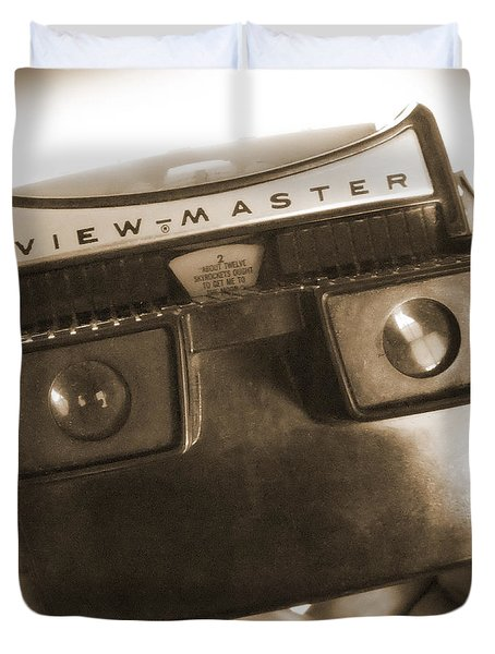 View - Master Duvet Cover by Mike McGlothlen