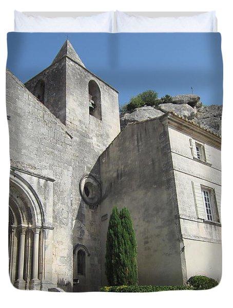 Village Church Duvet Cover by Pema Hou
