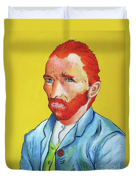 Vincent Van Gogh Duvet Cover by Venus