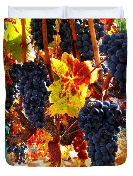 Vineyard 8 Duvet Cover by Xueling Zou