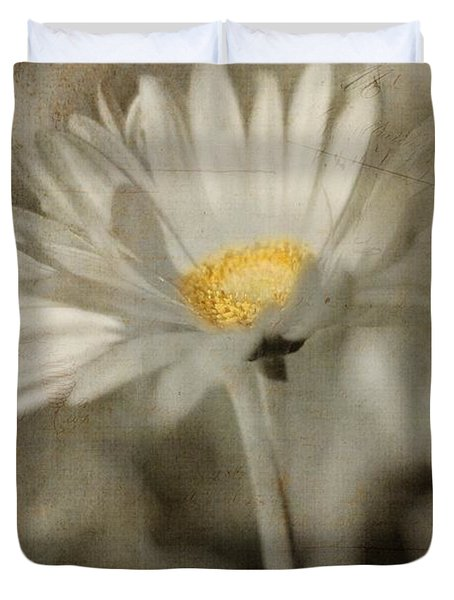 Vintage Daisy Duvet Cover by Joann Vitali