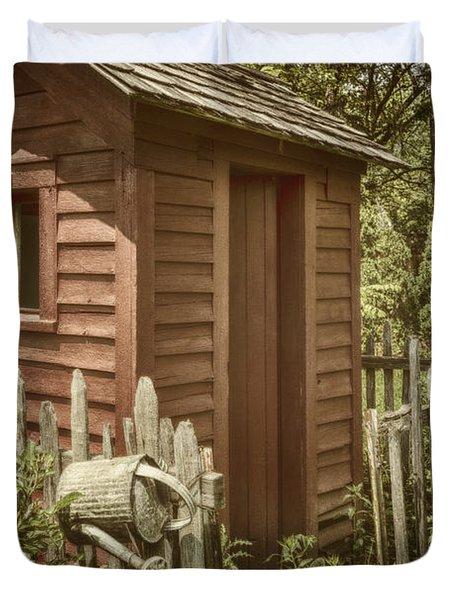 Vintage Garden Duvet Cover by Margie Hurwich