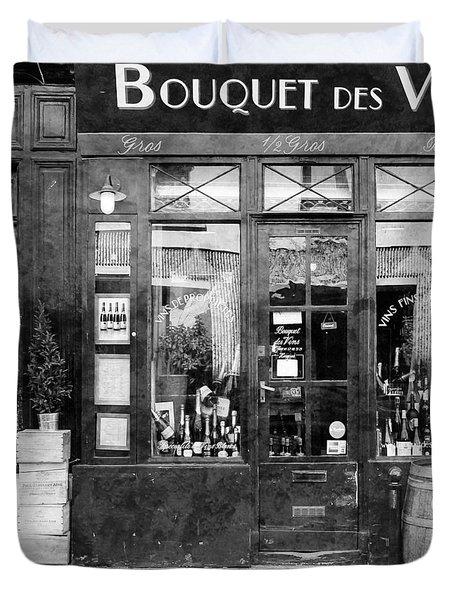 Vintage Paris 11c Duvet Cover by Andrew Fare