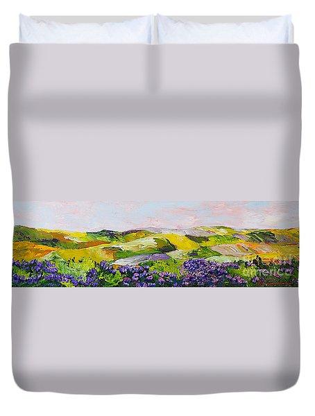 Violet Sunrise Duvet Cover by Allan P Friedlander