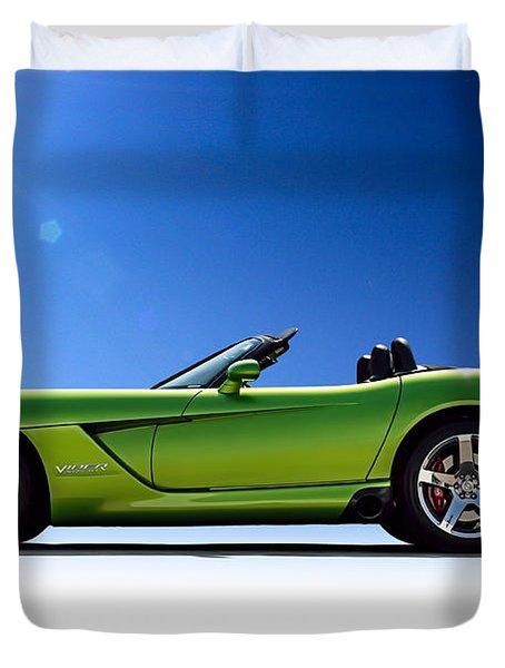 Viper Roadster Duvet Cover by Douglas Pittman