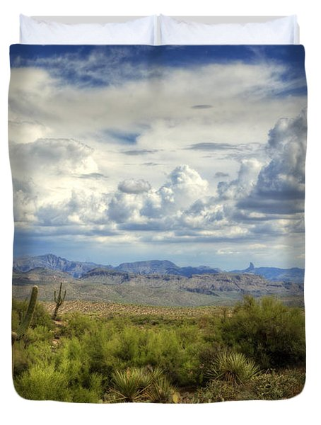 Visions of Arizona  Duvet Cover by Saija  Lehtonen