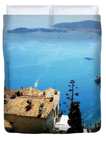 Vista From Eze Duvet Cover by Lainie Wrightson