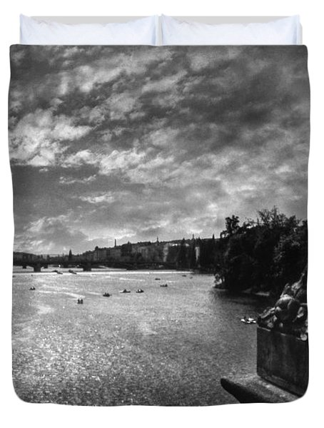 Vltava Duvet Cover by Taylan Soyturk