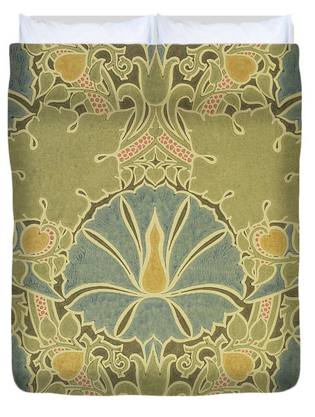 Voisey the Saladin Duvet Cover by William Morris