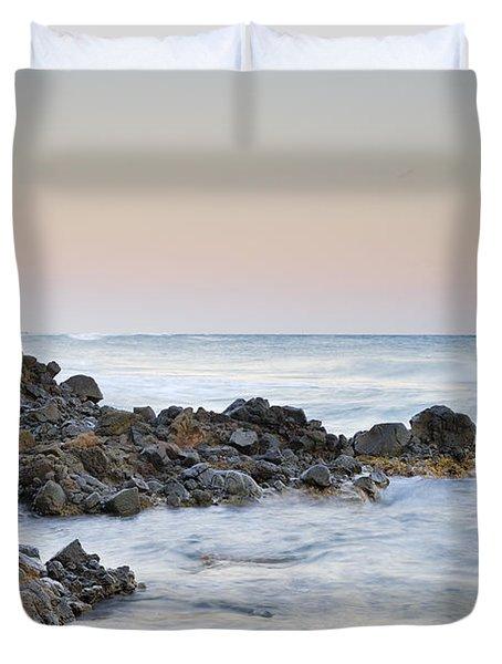 Volcanic Rocks Duvet Cover by Guido Montanes Castillo