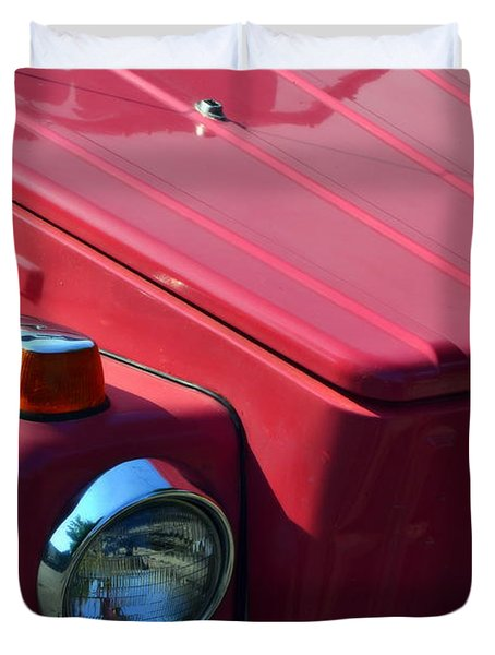 Volkswagen Thing Duvet Cover by Michelle Calkins