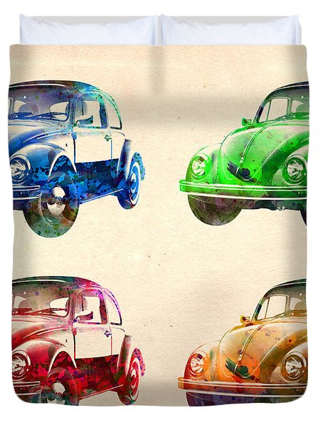 Vw 2 Duvet Cover by Mark Ashkenazi