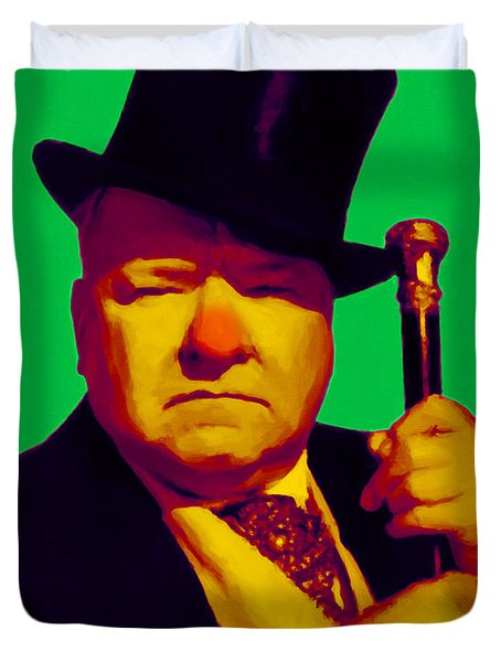 W C Fields 20130217p180 Duvet Cover by Wingsdomain Art and Photography