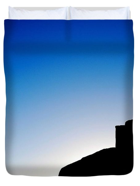 Waiting For The Sun II Duvet Cover by Hannes Cmarits