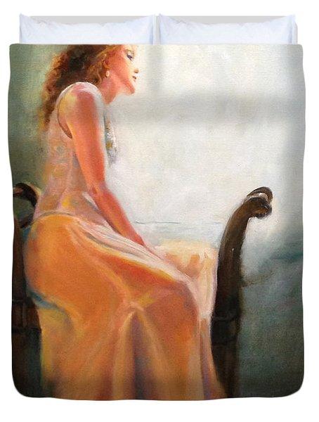 Waiting Duvet Cover by Sarah Parks