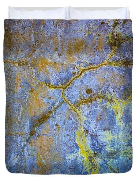 Wall Abstraction I Duvet Cover by David Gordon