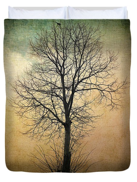 Waltz of a tree Duvet Cover by Taylan Soyturk
