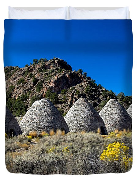 Wards Charcoal Ovens Duvet Cover by Robert Bales
