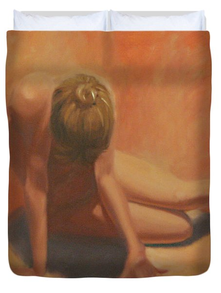 Warmth Duvet Cover by Sarah Parks