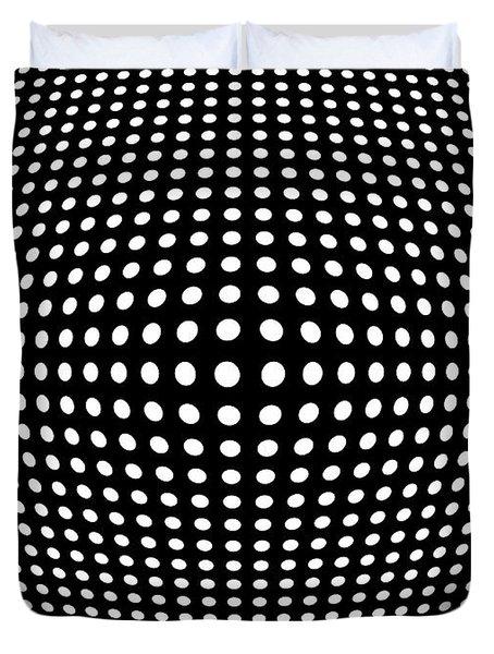 WARPED SPACE Duvet Cover by Daniel Hagerman