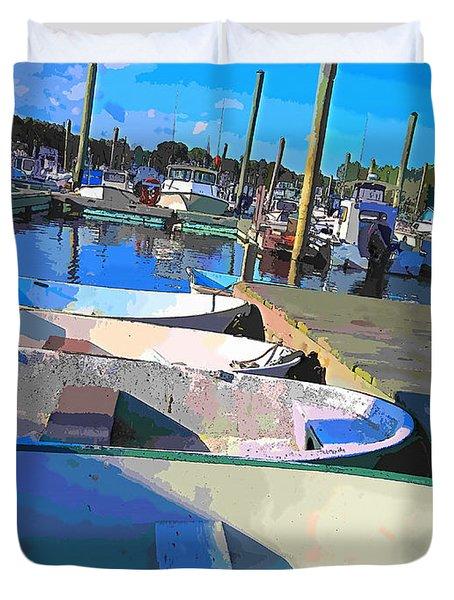 Warwick Marina Duvet Cover by Lourry Legarde