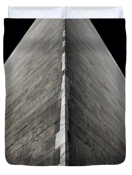 Washington Monument Duvet Cover by Marianna Mills