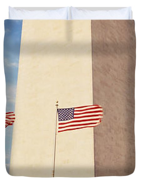 Washington Monument Washington Dc Usa Duvet Cover by Panoramic Images