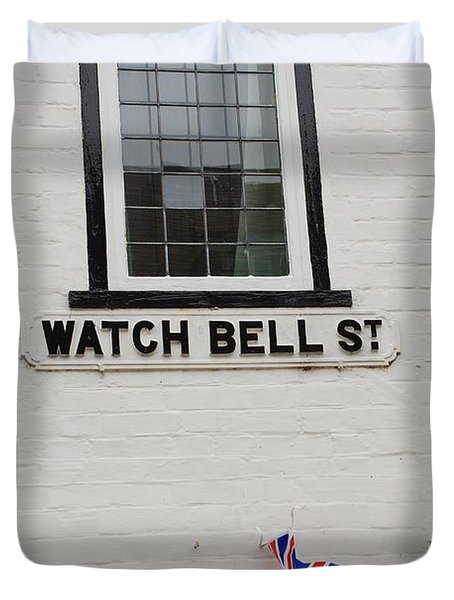 Watch Bell Street Rye Duvet Cover by David Fowler