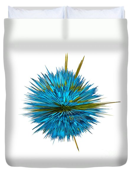 Water Explosion Duvet Cover by Kaye Menner